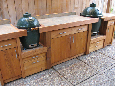 BBQ Station for medium and large Egg