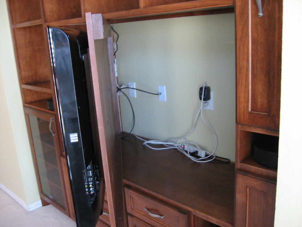 Entertainment Center Wiring Basic Guide Diagram Home Solutions Chestnut Built In Rh Texastimberwolf Com A Electrical System