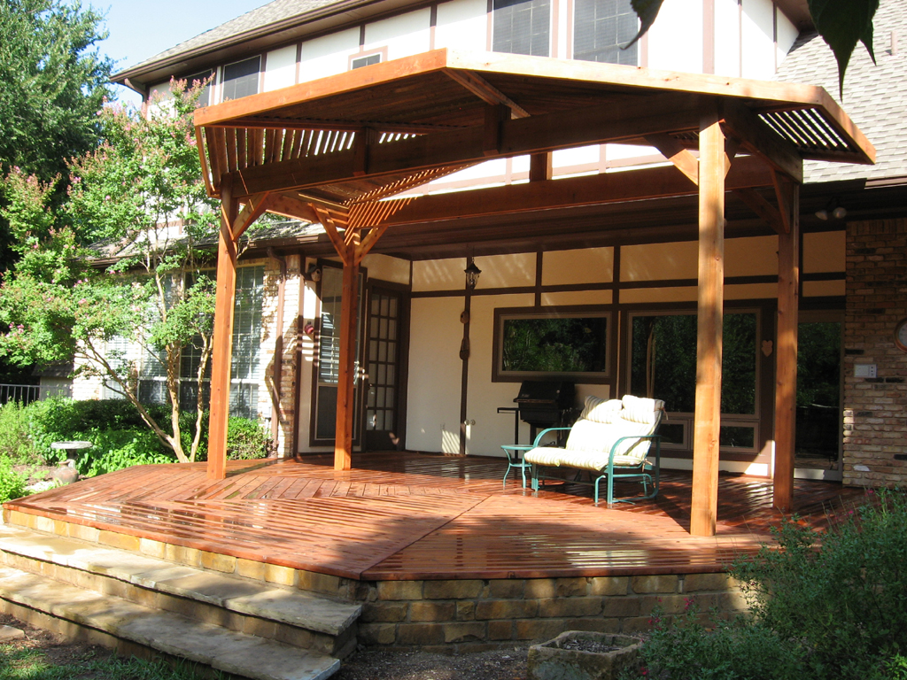 Patio Cover And Deck Add An Ideal Outdoor Living Space