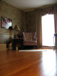 Bamboo flooring is durable and a green, renuable alternative to hardwood flooring.