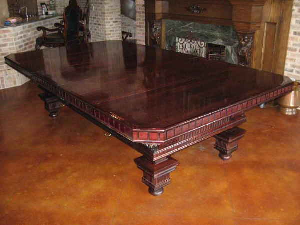 Pool Table Dining Top by Texas Timber Wolf